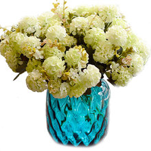 Bouquet Flower Artificial chrysanthemum Wedding Bridal Home Floral Decor Flower Arrangement DIY Party Decorition