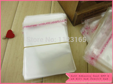 30X40+3cm Big Clear Plastic bag, 100pieces Self Adhesive Seal OPP bags Clothes/Magazine / Jewelry poly packing pouch Re-sealable