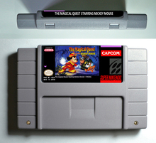 Action Game Cartridge - The Magical Quest starring Mickey Mouse USA Version
