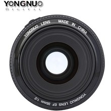 Yongnuo YN35mm F2 lens Wide-angle Large Aperture Fixed Auto Focus Lens for nikon D7100 D3200 D3300 D3100 D5100 D90 DSLR Cameras(China)