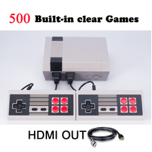 MYOHYA HDMI Output Retro Classic handheld game player Family TV video game console Childhood Built-in 500 Games mini Console(China)