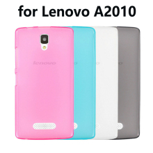 For Lenovo A2010 Case UltraThin Soft TPU Case fundas For Lenovo A2010-a A2010 cellphone Cases Silicone Protective Back Cover