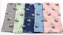 120pcs/lot 2015 new big panda print scarf pashimina shawl panda scarf(China)