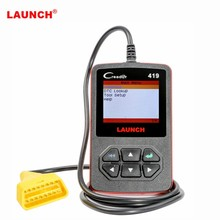 Launch CReader 419 DIY Scanner OBDII/EOBD Auto Diagnostic Scan Tool Code Reader Update Online With English/French/ Spanish(China)