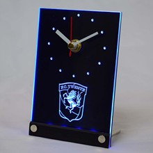 tnc1005 FC Twente Enschede Eredivisie LED Neon Sign 3D LED Table Desk Clock(China)