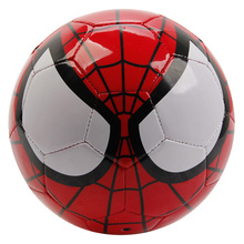 Disney Marvel Super Hero Spider Man PVC Official Soccer Ball Size 2 ,3, 4, Size 5 Toy Football Ball