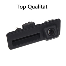 wire wireless CCD car rear view parking camera for Audi A4/Audi A4L/S5/Q5/A8L/09/10 Passat/Tiguan/RS6/12 Sagitar Trunk handle(China)