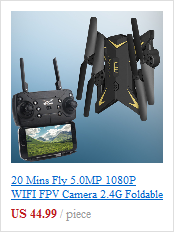 iDol 1080P WIFI FPV Camera 2.4G Foldable RC Drone GPS Quadcopter GPS Follow Me Set Height Hover APP Control Gesture Recognition 1