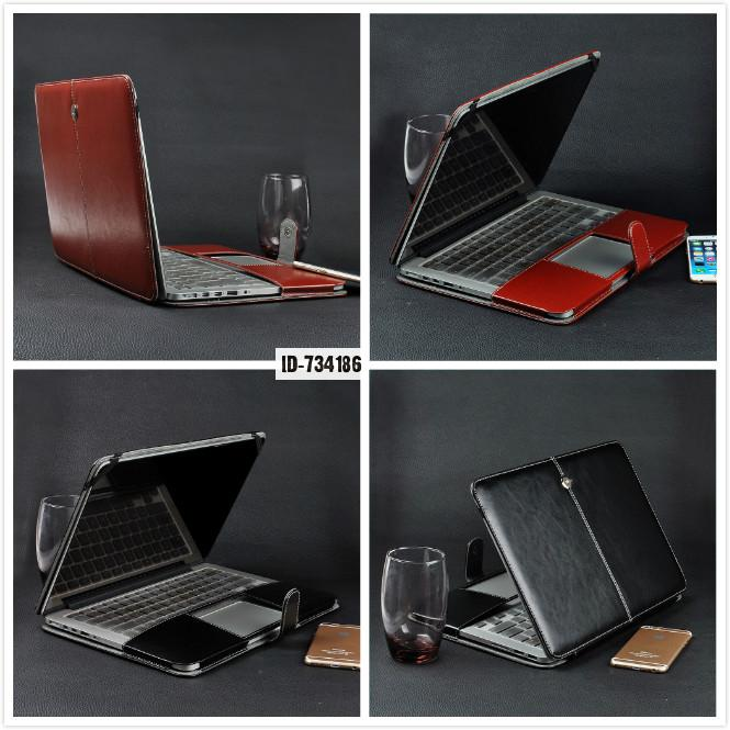 Notebook Laptop Leather Sleeve Case Bag For 11.6 Macbook Air 11 Keyboard Cover Us Euro Computer Carrying Handbag<br><br>Aliexpress