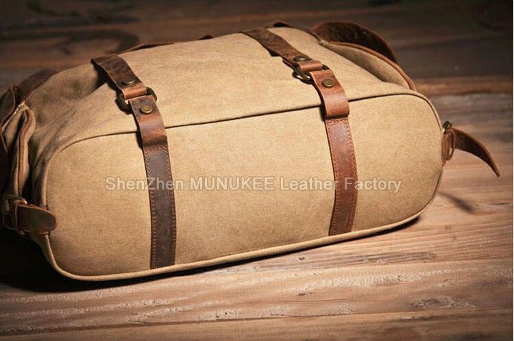 Мужская сумка из брезента своими руками 57