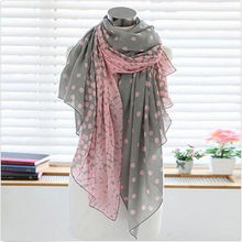 Fashion High Quality Candy colors silk Women's Long Scarf Wraps Shawl Stole Soft(China)