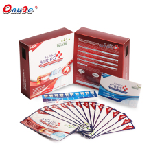 Onuge APA Teeth Whitening Dry-Strips Pro Oral Care Advanced Flash Dental White Strips Strong Sticky 14 Pairs Teeth Whitening(China)