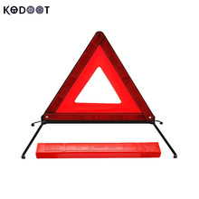 AUTO New Arrival Road Warning Triangle Folding Car Emergency Tripod Reflective Automobile Traffic Warning Stop Sign KODOOT