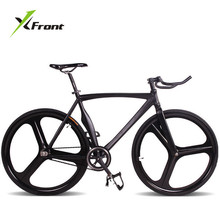 Original X-Front brand fixie Bicycle Fixed gear 46cm 52cm DIY Claw handlebar speed road bike track bicicleta fixie bicycle(China)