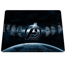 Direct selling The Avengers Printing High Quality Mousepad Gaming PC Computer Mice Play Mat For Optical Game Speed Mouse Pad