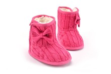 Leisure Kids Prewalker Winter Bebe Toddler Warm Snow Baby Boots Newborn Infant Soft Soled Unisex High Top Shoes For Boys Girls