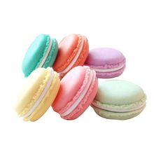 6 pcs Colorful Mini Pill Case Container Macaron Shape Storage Boxs Candy Jewelry Organizer Factory Price(China)