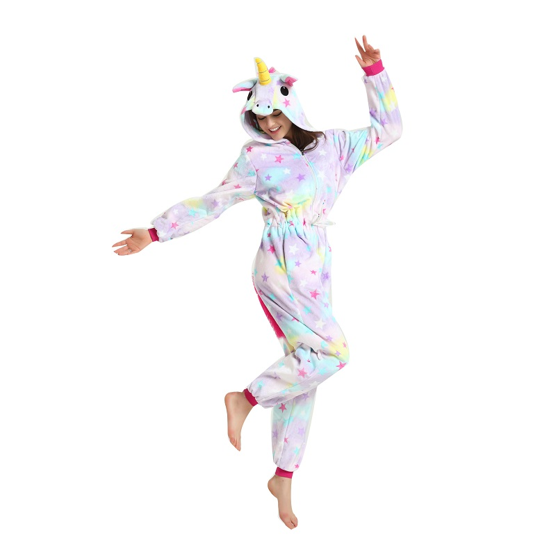 Adult-women-cartoon-animal-sleepwear-animal-unicorn-pajamas-Cute-women-hooded-long-sleeve-star-unicornio-pajamas (1)