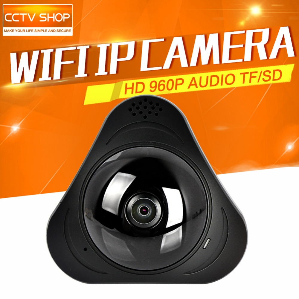 3D VR WIFI IP camera Wireless 960P Panoramic 360 Degree View Mini CCTV Camera Onvif Network Home Security Camera WI-FI YOOSEE
