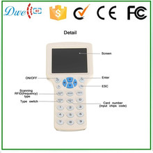 DWE CC RF T5577 EM4300 rfid Key duplicator card reader writer 125khz(China)