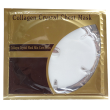 20pcs/lot Pro Collagen Crystal Breast Mask Collagen Firming Crystal Chest Mask Milky Gel Breast Mask
