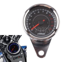 Free Shipping 13000RPM Tacho Gauge Tachometer Motorcycle Speedometer for Honda Yamaha Kawasaki New Replacement(China)