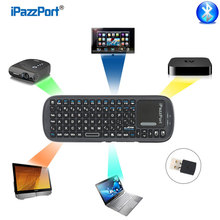 New Universal Wireless Mini Bluetooth Keyboard With Sensitive Air Mouse Touchpad For Windows Linux Android Google Smart TV Mac