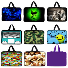 "New arrival 10 inch laptop bag tablet sleeve case with handle PC handbag 9.7""10""10.1""10.2"" computer notebook cover pouch"