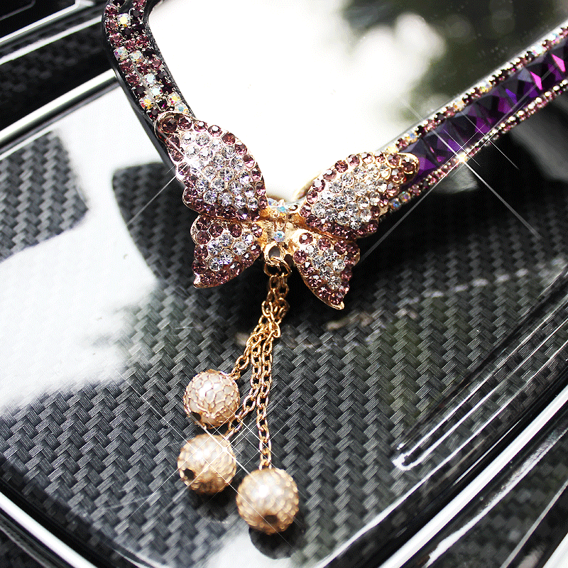 Car-Interior-Mirror-Crystal-Decoration-Diamond-Butterfly-Rearview-Mirror-Bling-for-Girls-Woman-7