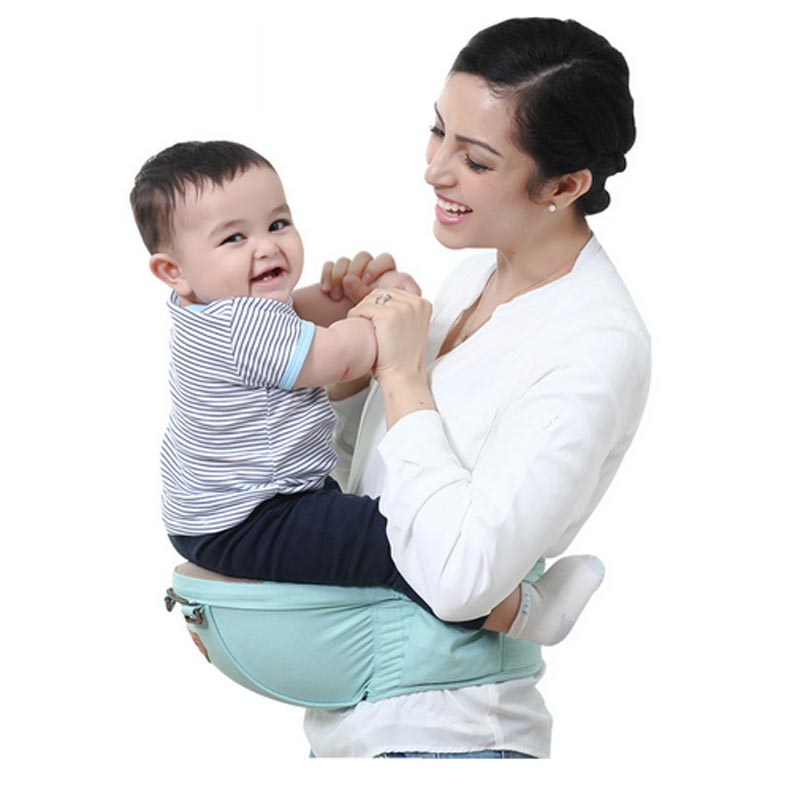 Hot Selling Baby Carrier Soft Infant Wrap Breathable Infant Hipseat Toddler Sling Carrier for Newborn Carrying Slings for Babies<br>
