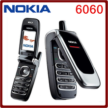Nokia  6060 Original Unlocked Nokia 6060 mobile phone DualBand JAVA Classic GSM Cheap Cell Phone  High quality Free shipping