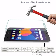 "Tempered Glass Screen Protector For Alcatel One Touch Pop 4 5"" 5051D 5051X 5051E DUAL LTE Pop4S Pop 4+ 4Plus 5.5"" Film Funda"