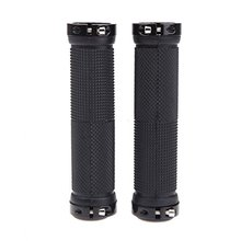 Good deal Pair Mountain Bike MTB BMX Bicycle Cycling Double Lock Handlebar Grips
