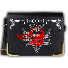 2017 New Women Bags Anime NEON GENESIS EVANGELION EVA Messenger Bag Cartoon Lolita PU Shoulder School Crossbody Bags Satchels