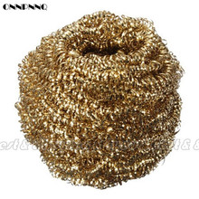 ONNPNNQ Soldering Solder Iron Tip Cleaner Brass Cleaning Wire Sponge Ball Free Shipping (40909011)