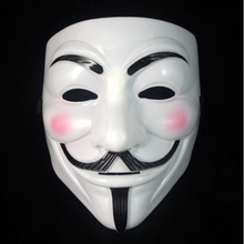 Hot Party Masks 1000 pcs V for Vendetta Anonymous Guy Fawkes Mask Halloween Cosplay Free shipping