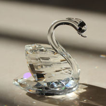 FREE SHIPPING, 6cm Height Wedding Favors Choice, Crystal swans Collection, 180pcs/lot