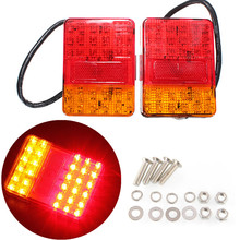 Quality Assured Fast Delivery Wholesale Price 2PCS 12V 30 LED Taillight Truck Car Van Lamp Tail Trailer Light E-Marked