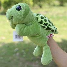High Quality Plush Puppet Sea Turtle Doll Early Educational Hand Puppets Best Birthday Christmas Toy Gifts For Kids Children