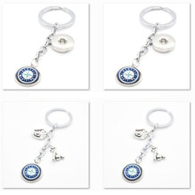 2017 Fashion Baseball Key Chain MLB Seattle Mariners Charm Keychain Party Birthday Keyrings Gifts Car Keyring for Women Men(China)