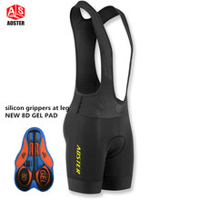 NEW 2017 GEL PAD BIB SHORTS ROAD MTB bicycle summer cycling bibs Ropa Ciclismo bike pants high quality with italy band 6 Colors