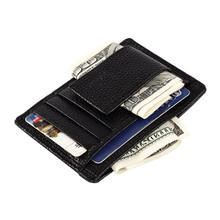 Xiniu Man Wallet One Piece Organizer Pocket Credit ID Card Holder Slim Purse Slim Wallet Men Billetera Hombre Carteira #360(China)