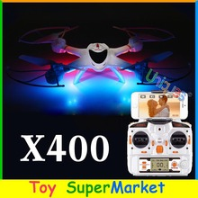 MJX X400 FPV iPhone Android Wifi Real Time RC Quadcopter with Camera C4005 C4010 CF Mode Auto-Return UFO Drone 4CH X400-V2 H9D