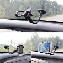 Suck Holder Sticky Car phone holder window Windshield Mount Holder For iPhone 6 5S Rotatable Bracket For Samsung GPS