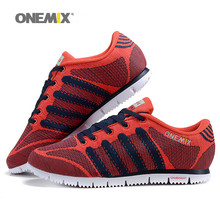 ONEMIX 2016 man outdoor sports shoes  athletic shoes lightweight running shoes comfortable walking shoes size US 7-10