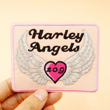 Harley Angels (Size:9.5x7.6cm) Cloth Badges Mend Decorate Patch Jeans Bag Clothes Apparel Sewing Decoration Applique Patches