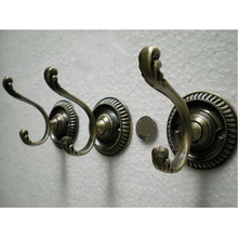 Bathroom Robe Hook Wall Mount Single Towel Clothes Holder Bathroom Accessories good help house decor Hook rails