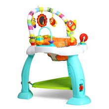 Musical Baby Jumper Chair Joy Garden Chair Up and Down Walker Upgrade Baby Activity Center Jumperoo Playing Gym Fancy Toys