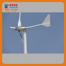 MAYLAR@15years Life Time,3pcs Blades, Start Wind Speed 3m/s 1000W Wind Generator
