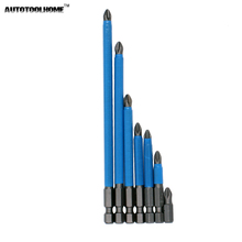 7PCS PH2 Anti Slip Electric Screwdriver Bit Set Bits Hex Shank Magnetic Bits 25mm 50mm 65mm 70mm 90mm 127mm 150mm(China)
